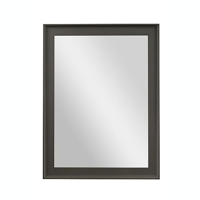 Alternate image 1 for PTM Images Empress 40-Inch x 30-Inch Wall Mirror in Pewter
