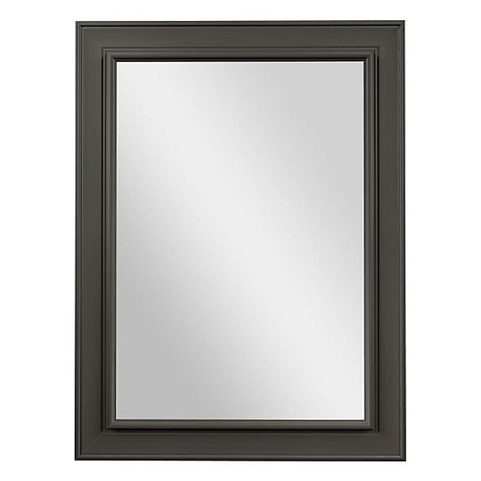 Alternate image 1 for PTM Images Crystal Rectangular Wall Mirror