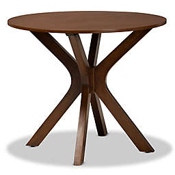 Baxton Studio Aldric Round Dining Table