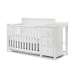 Sorelle Furniture Berkley Panel 4-in-1 Crib and Changer in White