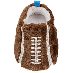 Sleepy Time Size 12-18M Football Slipper in Brown