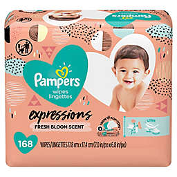 Pampers® Expressions 168-Count Fresh Bloom Scented Baby Wipes