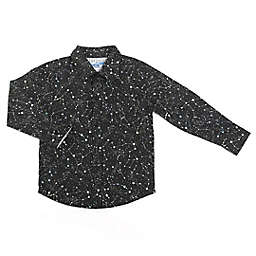 Kapital K Size 24M Galaxy Print Button Front Shirt