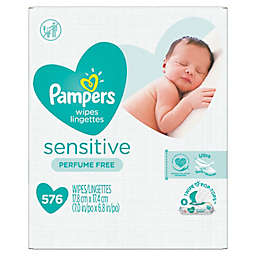 Pampers® Sensitive® 576-Count Fragrance-Free Baby Wipes