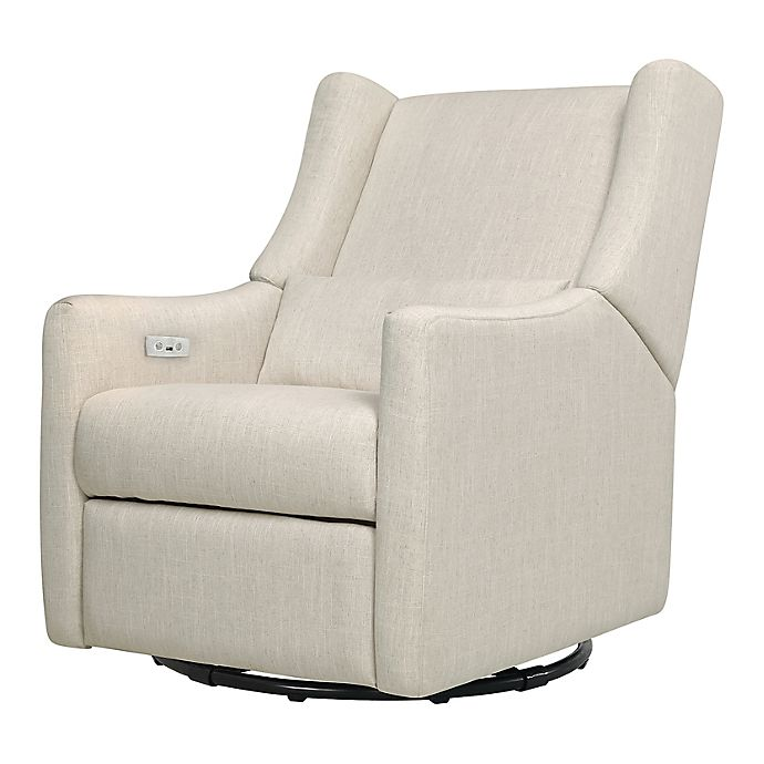 Alternate image 1 for Babyletto Kiwi Glider Recliner with Electronic Control and USB in Performance Fabric