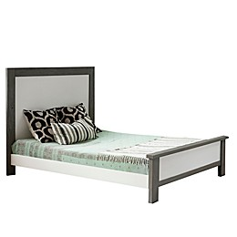 MILK Street Baby True Low Profile Full Size Footboard in Grey/Snow