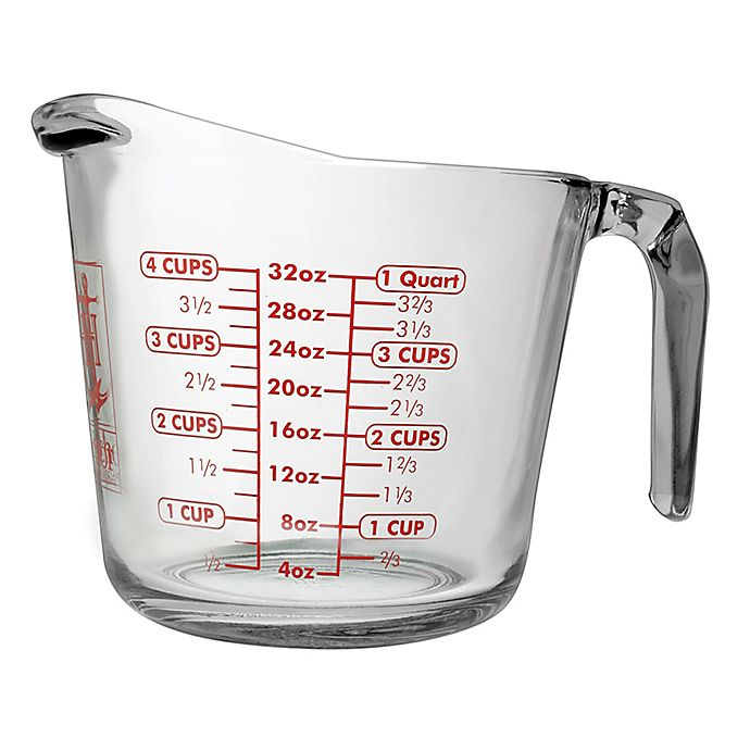 Alternate image 1 for Anchor Hocking® Measuring Cup
