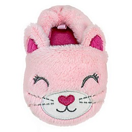 Sleepy Time Kitty Slipper in Pink