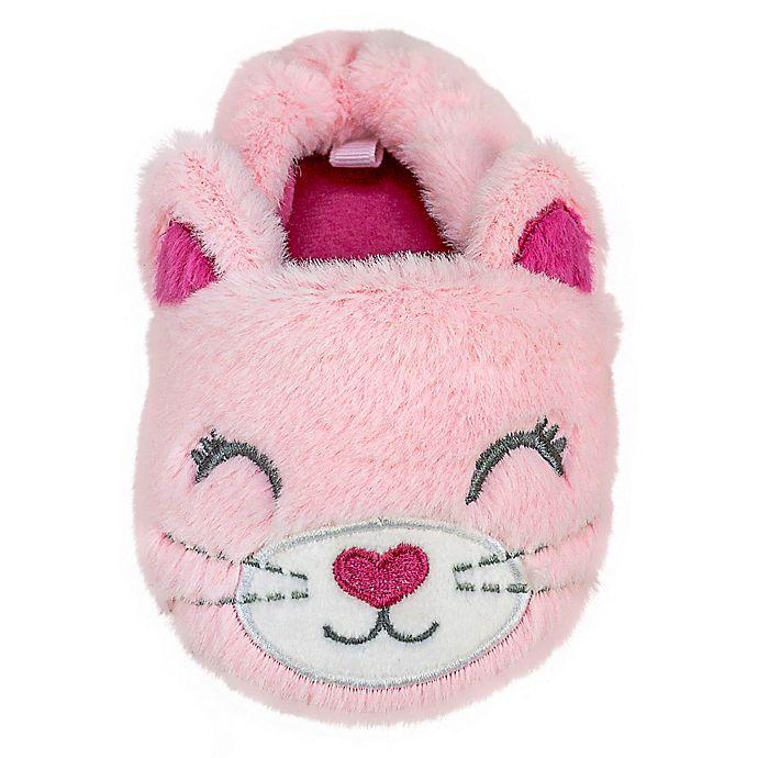 Alternate image 1 for Sleepy Time Kitty Slipper in Pink