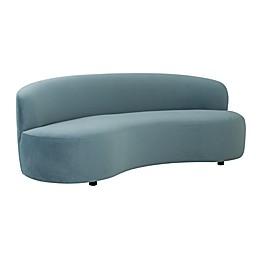 TOV Furniture Cannellini Velvet Sofa