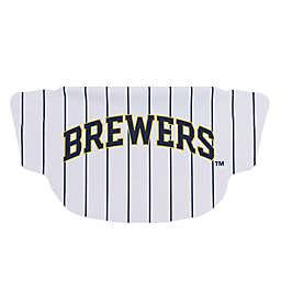 MLB Milwaukee Brewers Pin Stripe Face Mask