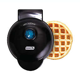 Dash® Mini Waffle Maker in Black