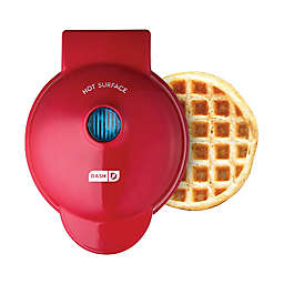 Dash® Mini Waffle Maker in Red