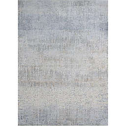 Couristan® Couture Aquarelle 2' x 3'7 Accent Rug in Grey/Beige