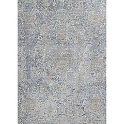 Couristan® Couture 2'x3'7 Bordado Accent Rug in Grey/Multicolor