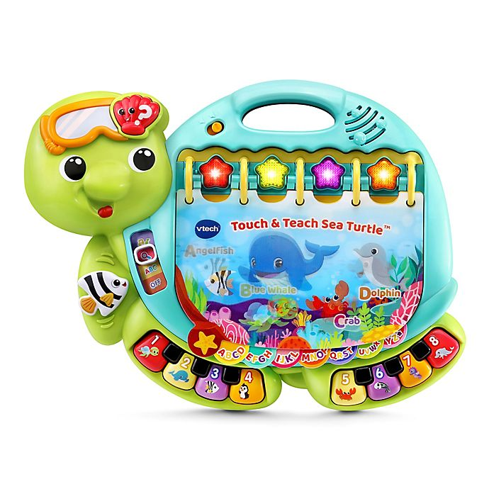 Alternate image 1 for VTech® Touch and Teach Sea Turtle