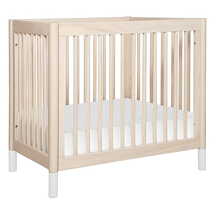 Alternate image 1 for Babyletto Gelato 4-in-1 Mini Crib/Twin Bed in Natural