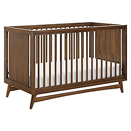 Babyletto Peggy 3-in-1 Convertible Crib in Natural/Walnut