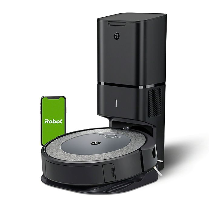Alternate image 1 for iRobot® Roomba® i3+ (3550) Wi-Fi Connected Robot Vacuum with Automatic Dirt Disposal