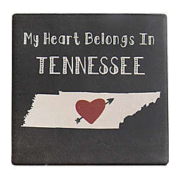 "Thirstystone® ""My Heart Belongs in Tennessee"" Coasters (Set of 4)"