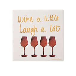 Thirstystone® Wine and Laugh Coaster