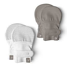 goumi 2-Pack Mitts in Grey/Pewter