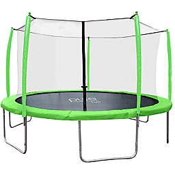 Pure Fun® Supa-Bounce Trampoline with Enclosure