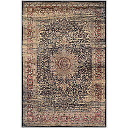 """Couristan® Zahara Lotus Medallion 2' x 3'7"""" Accent Rug in Red/Multi"""