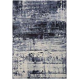 Couristan® Easton Mosaic 6'6 x 9'6 Area Rug in Slate