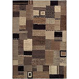 Couristan® Easton Maribel 6'6 x 9'6 Area Rug in Ivory/Grey