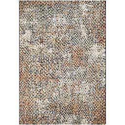 Couristan® Easton Zen 6'6 x 9'6 Area Rug in Brown/Orange
