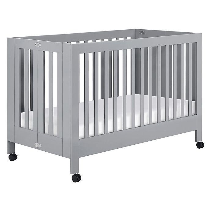Alternate image 1 for Babyletto Maki Full-Size Portable Crib