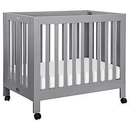 Babyletto Origami Mini Crib in Grey