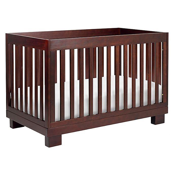 Alternate image 1 for Babyletto Modo 3-in-1 Convertible Crib in Espresso