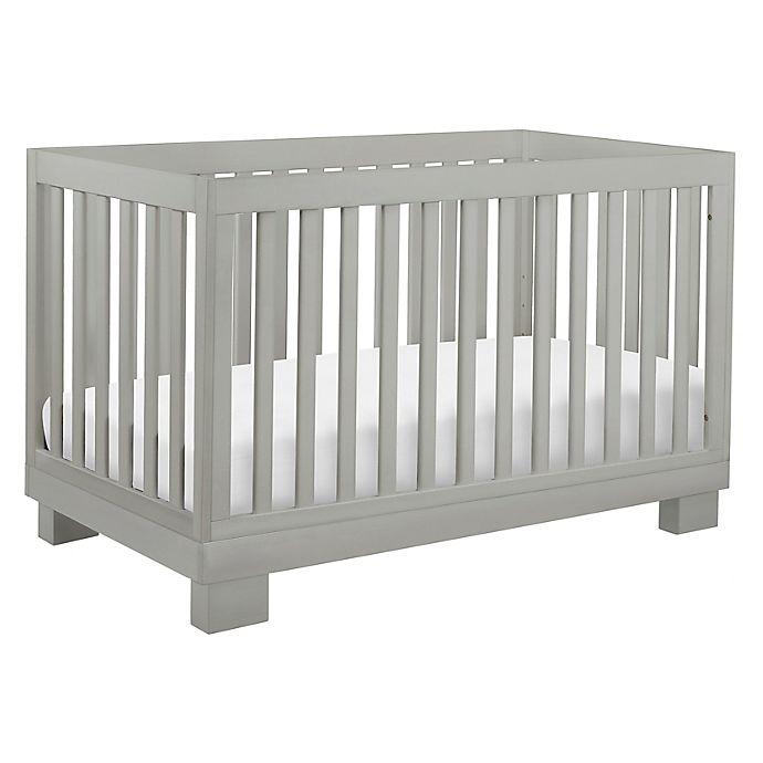 Alternate image 1 for Babyletto Modo 3-in-1 Convertible Crib in Grey