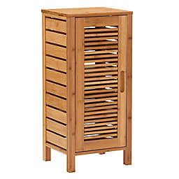 Linon Home Bracken Bamboo 1-Door Cabinet
