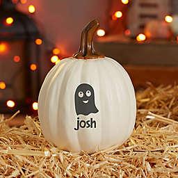 Small Halloween Characters Pumpkin in Cream