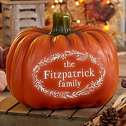 7.25-Inch Festive Light Up Pumpkin in Orange