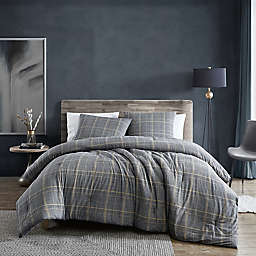 Kenneth Cole New York® Sussex Brushed Cotton Flannel Duvet Cover Set