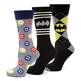 DC Comics™ Batman 3-Pair Socks Gift Set