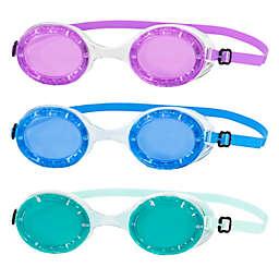 Aqua 3-Pack Koi Swim Goggles
