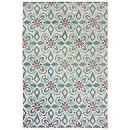Cabana Bay Bantry Laguna Indoor/Outdoor Rug in Ivory