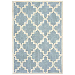 Cabana Bay Bantry Newport Indoor/Outdoor Rug in Blue
