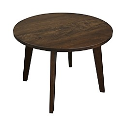 American Trails Genuine 100% Solid Cherry 24-Inch Round Coffee Table in Antique Cherry