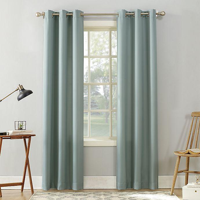 Alternate image 1 for No.918® Sora Grommet Light Filtering Window Curtain Panel