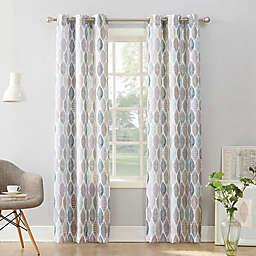 No. 918 Hotaru Grommet Sheer Window Curtain Panel (Single)