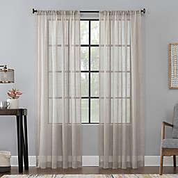 Scott Living™ Celeste96-Inch Rod Pocket Window Curtain Panel in Mocha