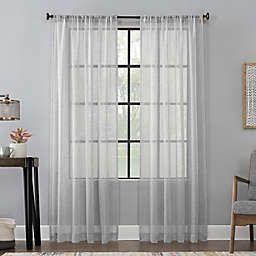 Scott Living™ CelesteRod Pocket Window Curtain Panel (Single)
