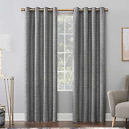 Scott Living Sinatra Dimensional Textured Total Blackout Grommet Window Curtain