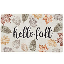 Hello Fall 18-Inch x 30-Inch Kitchen Mat